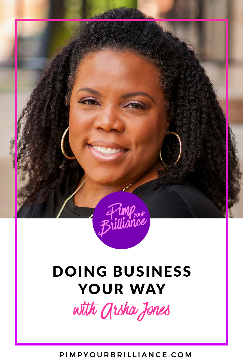 Serial Entrepreneur Arsha Jones
